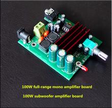 Buy TPA3116D2 100W mono digital amplifier board Subwoofer amplifier board pre-op amp NE5532 for $5.64 in AliExpress store