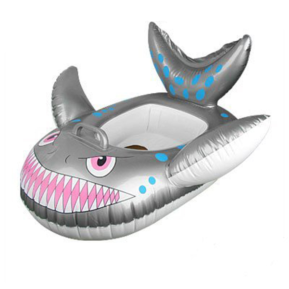 Kids Inflatable Swim Seat Float Ring - Fish,free shipping(China (Mainland))