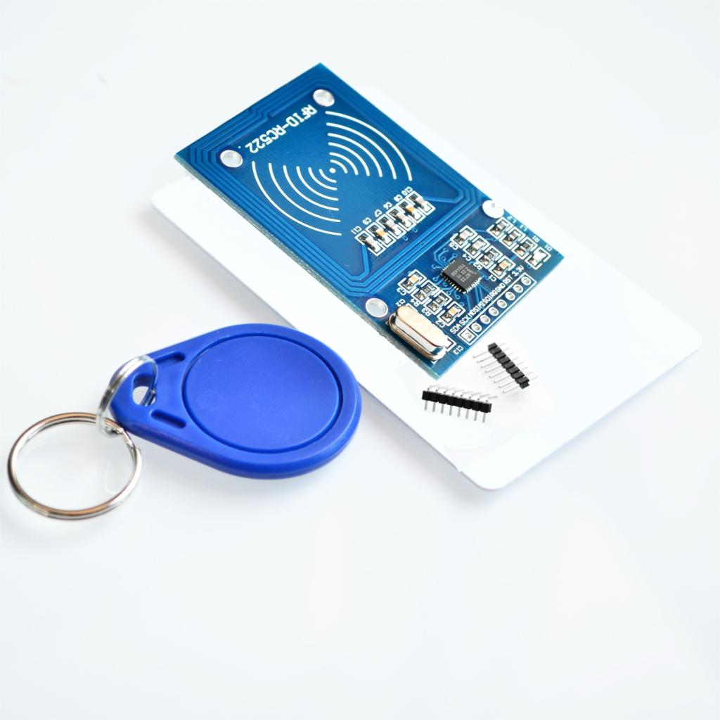 RFID module RC522 Kits S50 13.56 Mhz 6cm With Tags SPI Write & Read for arduino uno 2560(China (Mainland))