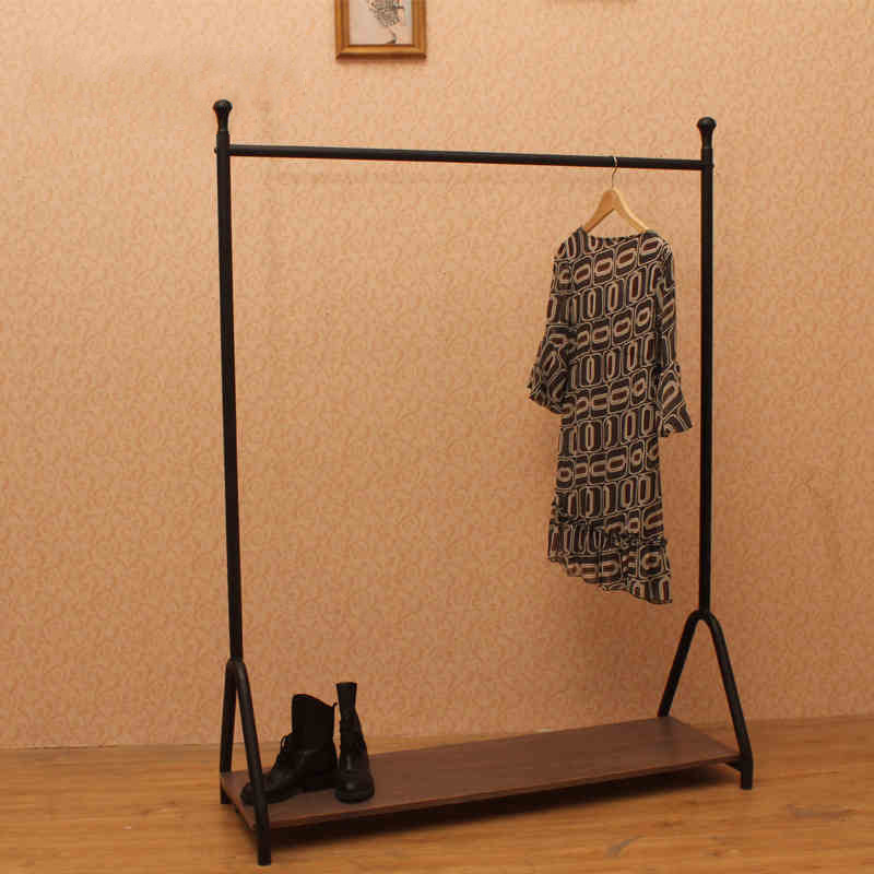 However excellent iron clothing rack simple creative home to do the old wood vintage clothing store display shelf pendant<br><br>Aliexpress