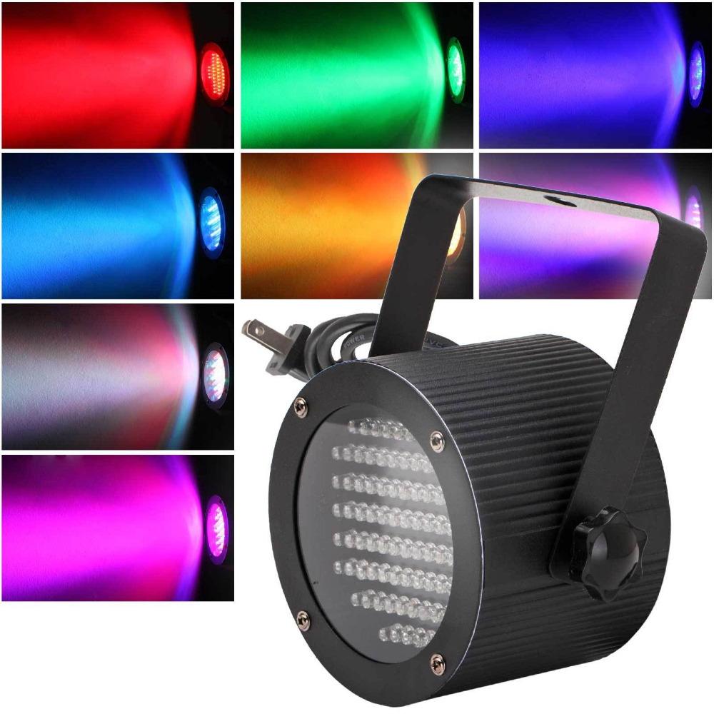 DMX512 86RGB LED Effect Light 7Channel DJ Disco Club Party Show Stage Lighting(China (Mainland))