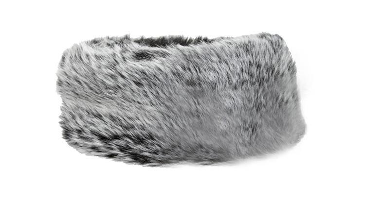 Дамы искусственного меха Hat повязка на голову зима ухо теплым Hat лыж новинка