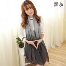 2016 New Fashion Scarves Women Winter Brand cachecol Gradual Scarfs Foulard Femme Designer Cotton shawls Scarf(China (Mainland))