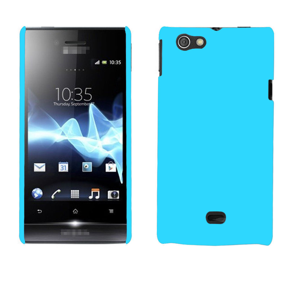 Чехол для для мобильных телефонов OEM Lightblue Sony Xperia ST23i For Sony чехол для для мобильных телефонов oem 1 sony xperia m c1905 c2005