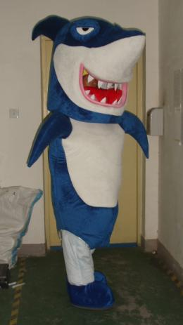 shark mascot costumes adult size Halloween Easter party fancy dress for sale custom made 002(China (Mainland))