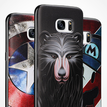 3D Stereo Relief Painting Case Samsung Galaxy S3 S4 S5 S6 Edge Plus S7 Note 2 3 4 5 A5 A7 A8 A9 A710 G530 Coque Fundas - Casesoon Trading (GZ store Co.,Ltd)