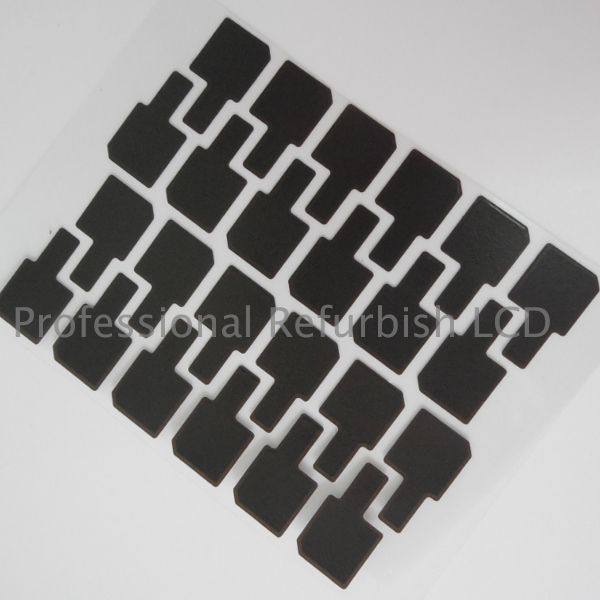 100pcs/Lot Original New Lcd Stickers Adhesive Strap Sponge for iPhone 6 4.7'' LCD corner QR Code Cooling Paste Sticker(China (Mainland))
