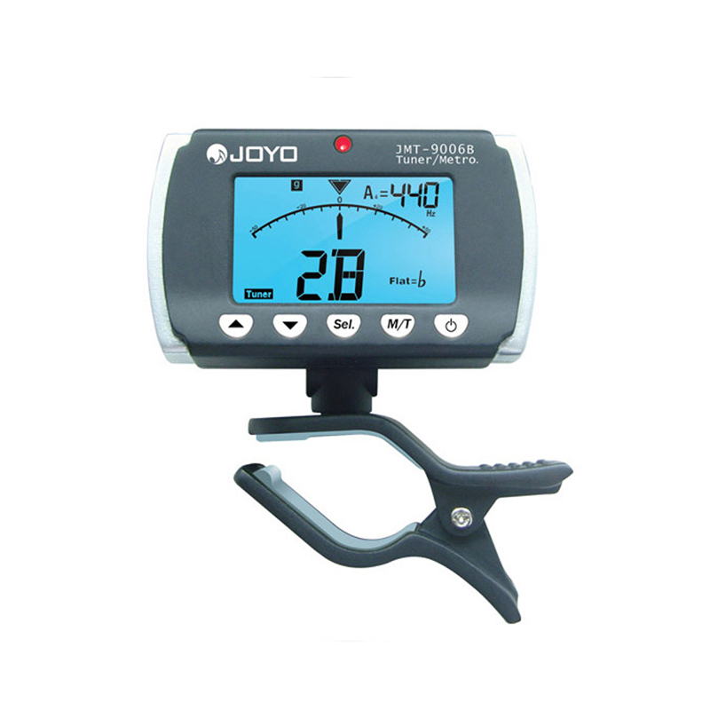 JOYO JMT-9006B Digital Tuner for Chromatic Guitar Bass Violin Clip-on Mini instruments tool tuning LCD screen free shipping(China (Mainland))