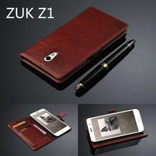 Lenovo ZUK Z1 card holder cover case For Lenovo ZUK Z1 Z1221 leather phone case ultra thin wallet flip cover
