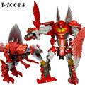 Big Size Anime Transformation 4 Toys Action Figures movie Model Children Classic Dragon Robots Toy Boy