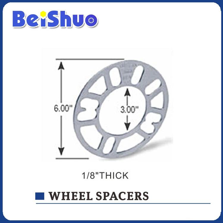 Car Aluminum Billet Wheel Spacer/Wheel Adapter alloy wheel spacer High polish Aluminium 6061 wheel spacer(China (Mainland))