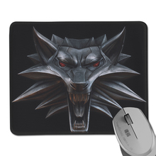 Professional Gaming Mouse Pad Witcher 3 Wild Hunt Game Anti-Slip Rectangle Big Mat Gift Special Offer - Redesign-DIY Case store