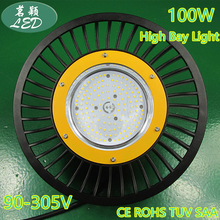 industrial light high quality IP65 100W LED High Bay Light Mining lamp 11500LM 90-305V Fedex Free shipping 100W(China (Mainland))