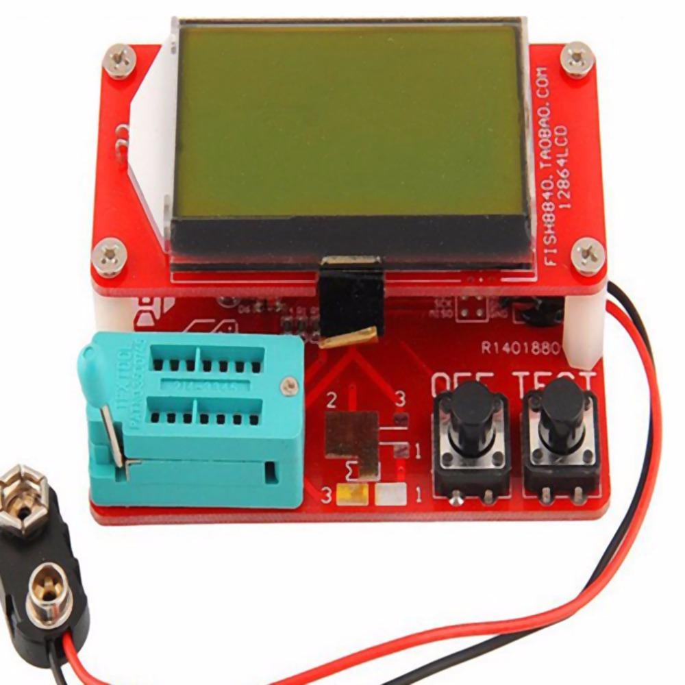 ESR Meter LED Mega328 Transistor Tester Diode Triode Capacitance MOS/PNP/NPN  new arrival
