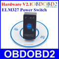 Super Black Power Switch ELM 327 Diagnostic Interface Auto Code Reader V2 1 ELM327 MINI Bluetooth