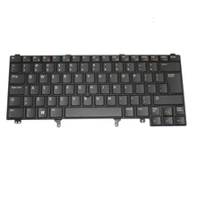 New US Keyboard for Dell Latitude 6320 E5420 E6420 Series Laptop Accessorie Displace BLACK with point Backlit (K1589-US)