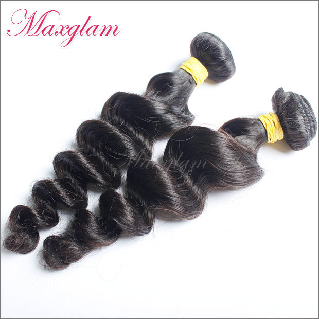 Natural Textured Weave Texture Human Hair Weave