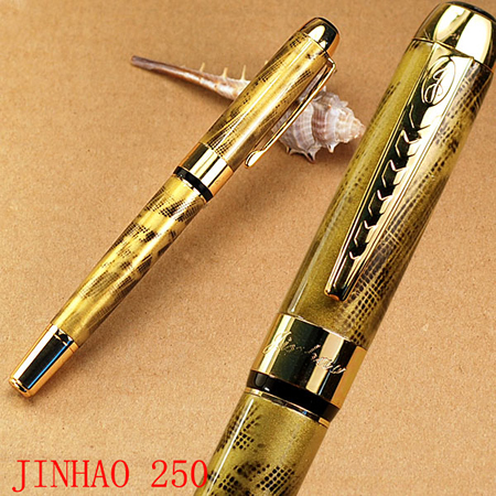 New 2014 Jinhao Kawaii plush Pens M Bib Vintage Fountain Pen For Writing With Logo School Supplies Promotional Free Shipping<br><br>Aliexpress