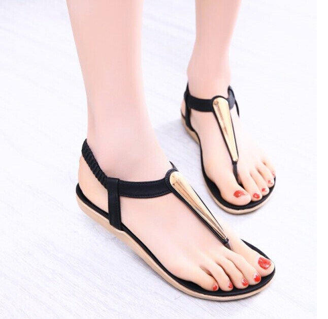Fashion new 2015 summer shoes woman sandals women sandal for women flip flops Wedges sandal Girl women pumps sandy beach(China (Mainland))