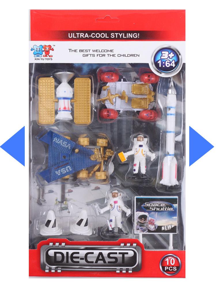 Model academic toy automobile alloy automobile mannequin army Plastic Soldier Mannequin toy 6pcs/set Christmas reward Boxed Free transport
