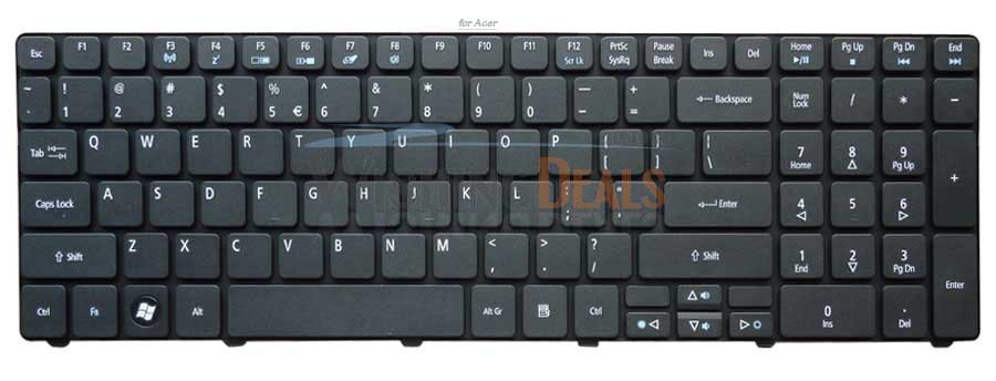 New Keyboard for Acer Aspire 5810 5810T 5810TG 5810TZ 5810TZG UI US black F3 Wireless Free Shipping(China (Mainland))