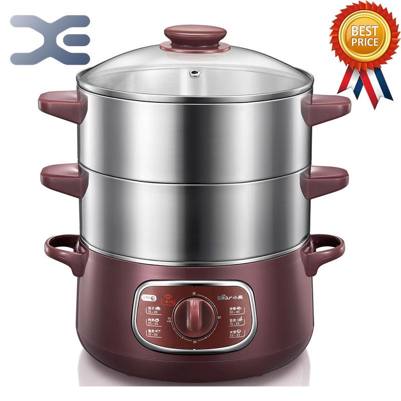 Bun Warmer 800W Cooking Appliances Food Warmer Steamed Steamer Electric Steamer 220V 6-8L(China (Mainland))