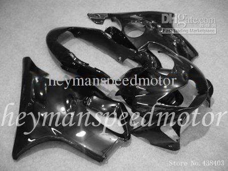 Black kit Fit Injection molded fairing HONDA CBR600 F4 99 00 1999 2000 CBR 600 1999-2000 ABS Fairing Plastic - yuxia song's store