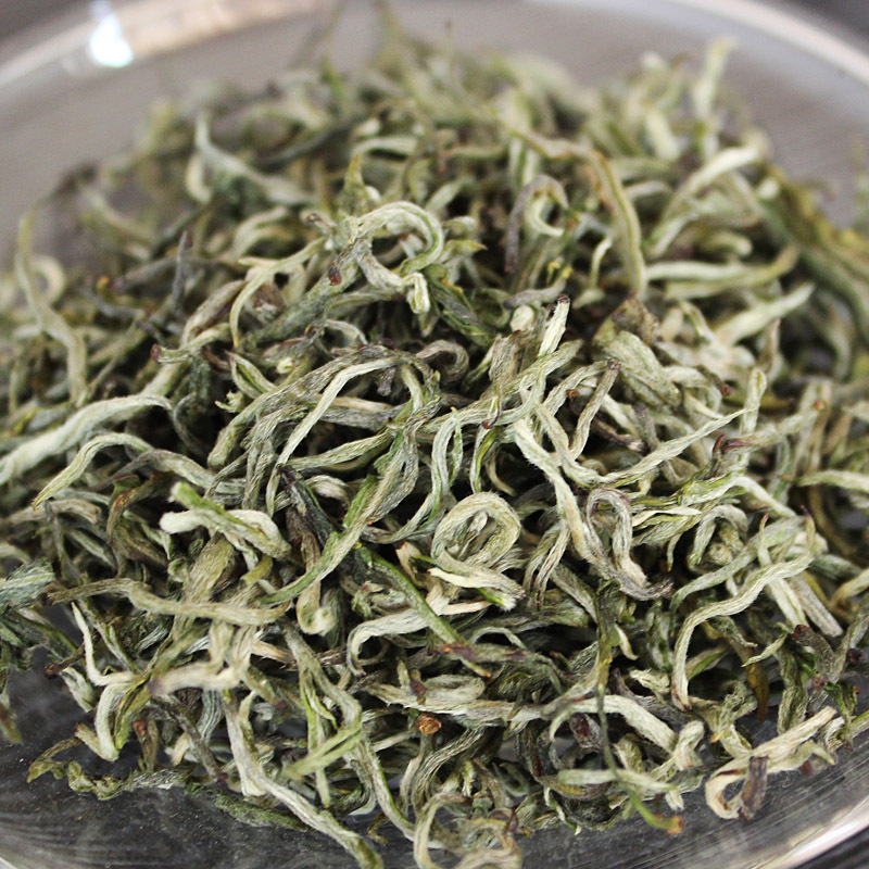 Chinese Green tea 1000g Top Grade Natural Organic Health lose weight slimming tea Silver Leaf factory price(China (Mainland))