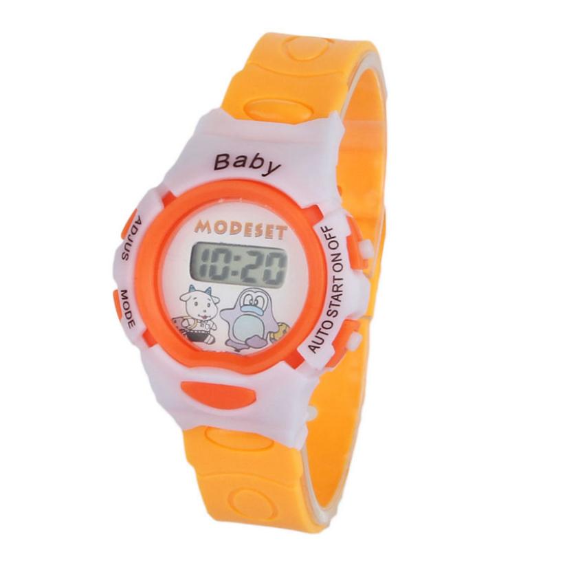 Гаджет  Amazing Colorful Cartoon Boys Girls Students Time Electronic Digital Watches Sport Wrist Watch Child Christmas Gift  None Часы