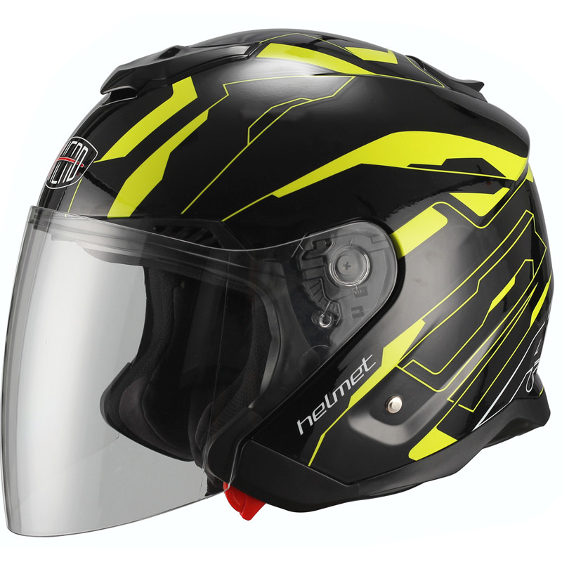 Dual Visor System Open Face motorcycle helmet DOT approved Fashion and Safety motorbike helmet <br><br>Aliexpress