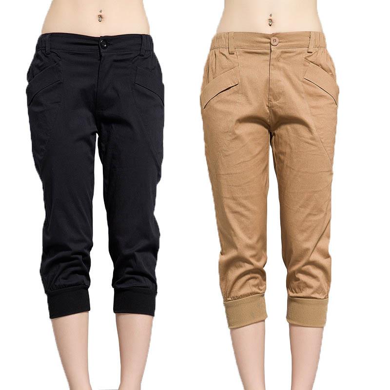 Simple Khaki Cargo Pants Women Baggy Sweatpants Pants Baggy Pant Women Loose
