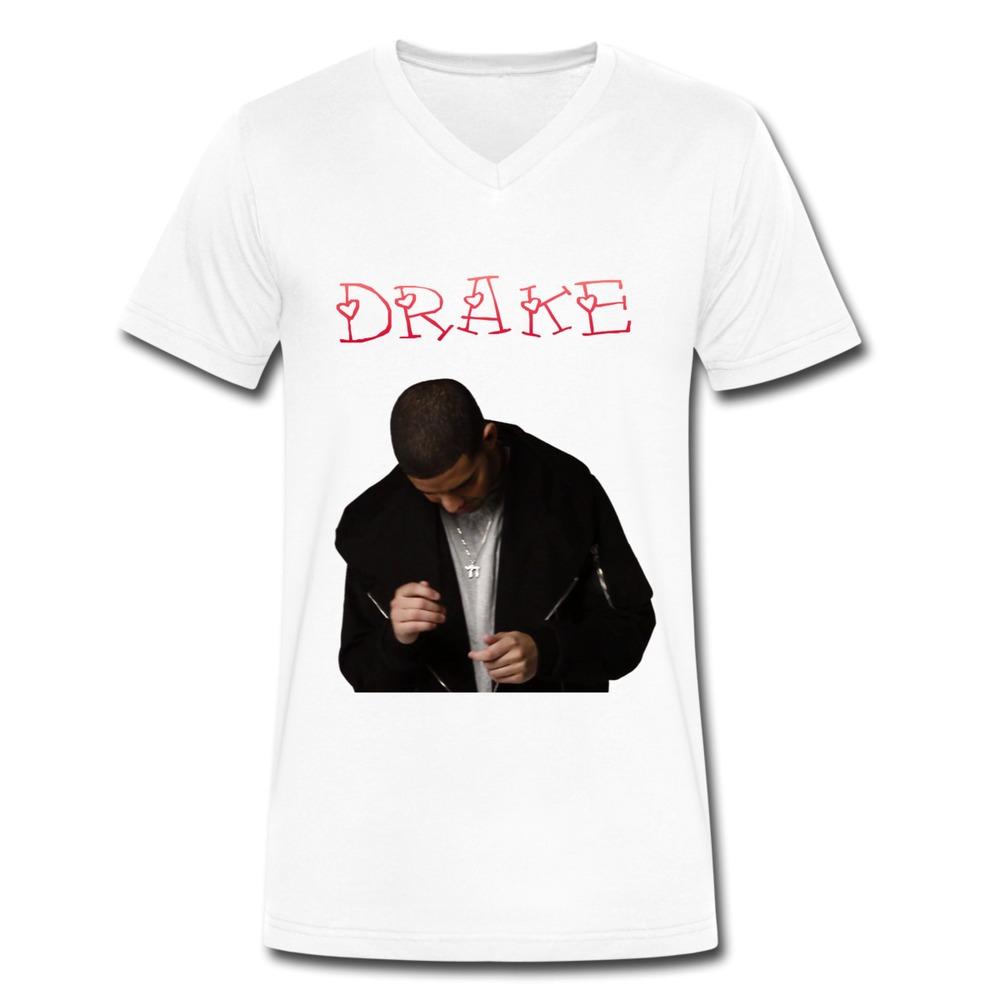 100% Cotton V Neck Drake t shirt For Men at Lowest Price ...