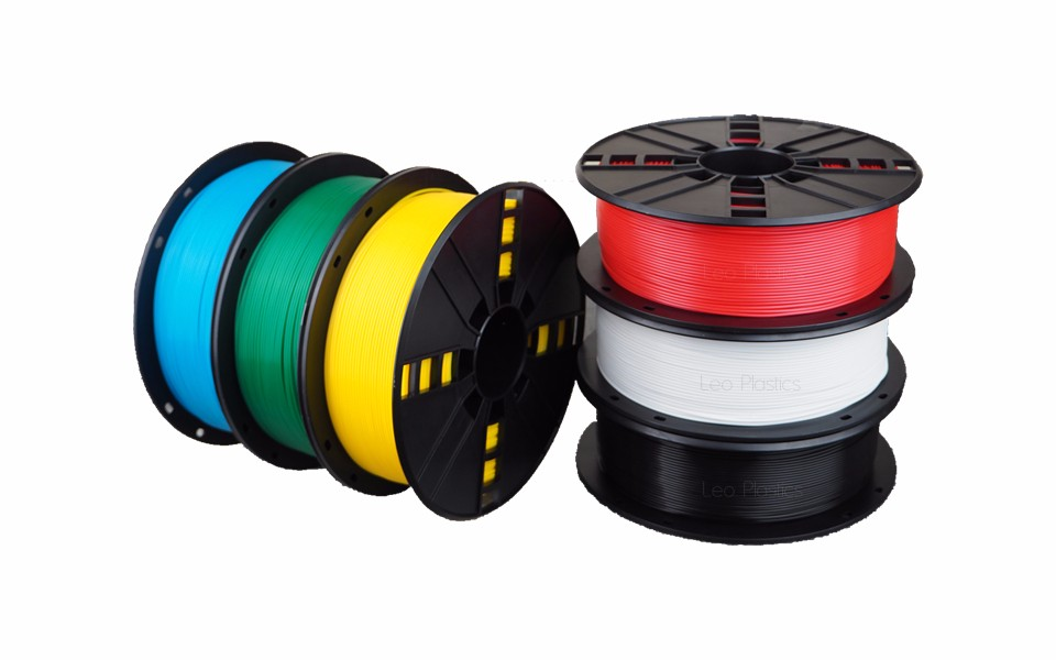 Worldwide Fast Express Within 7 Days Direct Manufacturer 3D Printer Material 1 kg 2.2 lb 1.75mm Black PLA Filament