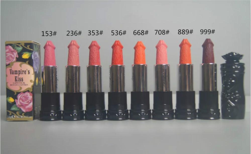 Сексуальная косметический бренд макияж 8 цветов vampures поцелуй помада матовый 3.4 г m89 губы ручки 1 шт. 1 шт. - chinashop24.r.