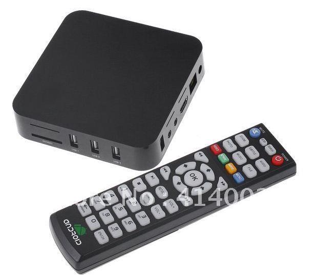 Wholesale Retail Android 4.0 Google TV Box with Amlogic-8726 Cortex A9 WiFi FHD 1080P HDMI Internet TV Set-Top Box Media Player