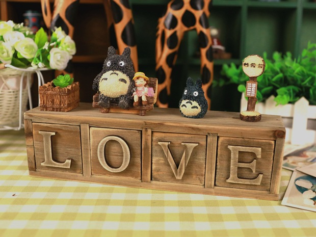 TOTORO Miyazaki Hayao Action Figure Studio Ghibli font b Anime b font My Neighbor TOTORO Resin