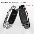 Metal Strap For Xiaomi Mi Band 2 Bracelet Belt For Xiaomi Miband 2 Strap Replacement