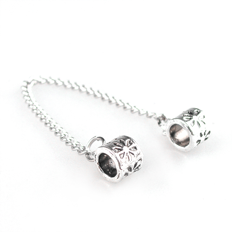 Free Shipping New 2015 Safety Chain Bead Fit Women Pandora Bracelets Diy Beads Charms YW15235(China (Mainland))