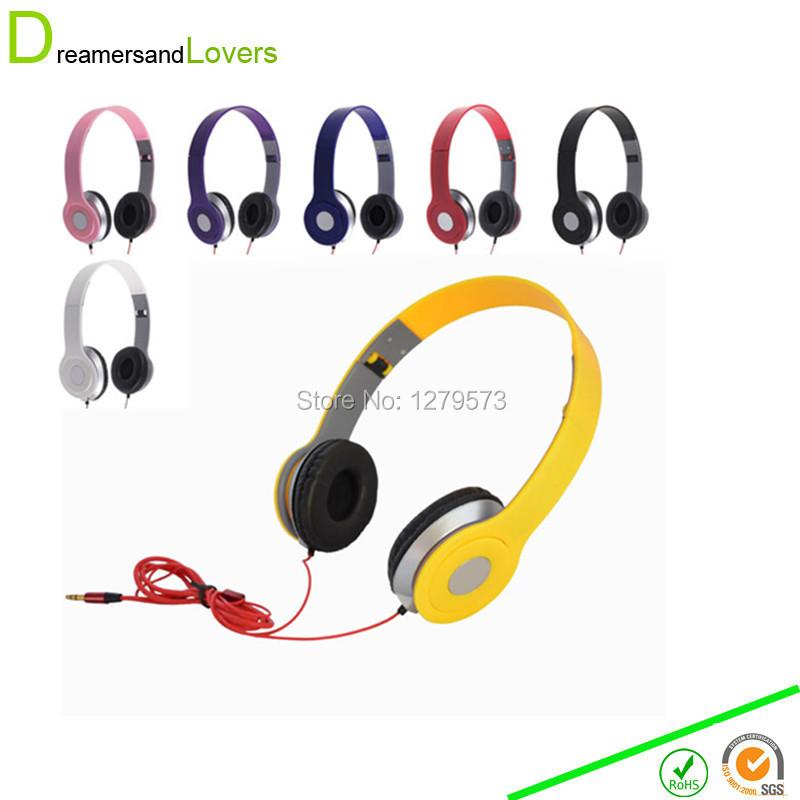 font b Headphones b font 3 5mm Foldable font b Headphones b font Headsets Tablets