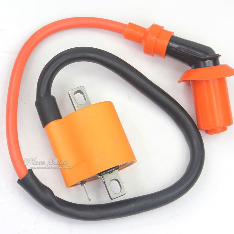 Performance Racing Ignition Coil GY6 50cc 150cc Scooter Mopeds ATV 139QMB 157QMJ(China (Mainland))
