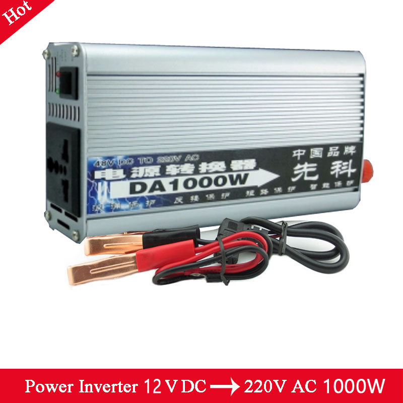 12V/220V Portable Automotive Power Inverter Charger Converter for Car Auto DC 12 to AC 220 Modified Sine Wave<br><br>Aliexpress
