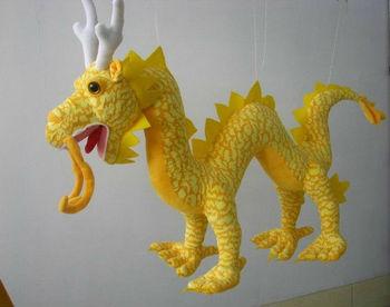 Free Shipping! 2013 New Arrival Chinese Dragon 58CM Plush Toys Dolls Cushion Pillow Creative Birthday Gift Mascot Home Decor