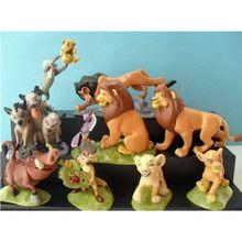 9pcs/set The Lion King simba Action Figure Toy Dolls for baby  kids(China (Mainland))