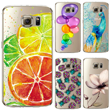 Buy Soft TPU Cover Samsung Galaxy S6 S7 A3 J1 2016 Cases Phone Shell Hot Selling Fresh Lemon Elegant Flowers Silicon Painting for $1.01 in AliExpress store