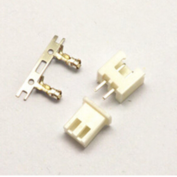 50PCS XH2.54 2.54mm 2P  Straight Male Pin Header + Housing +Terminal Connector Assortment Kit<br><br>Aliexpress