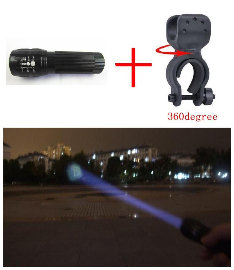 Bicycle Light 7 Watt 2000 Lumens 3 Mode Bike Q5 LED cycling Front lights Lamp Torch Waterproof 27 - The China Store store