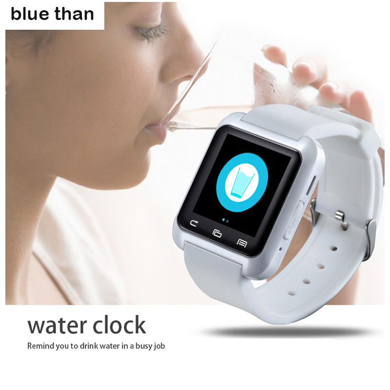blue than Watch U8 Smart watch WristWatch Smartwatch digital sport watches for Apple IOS Android phone Wearable Electronic(China (Mainland))