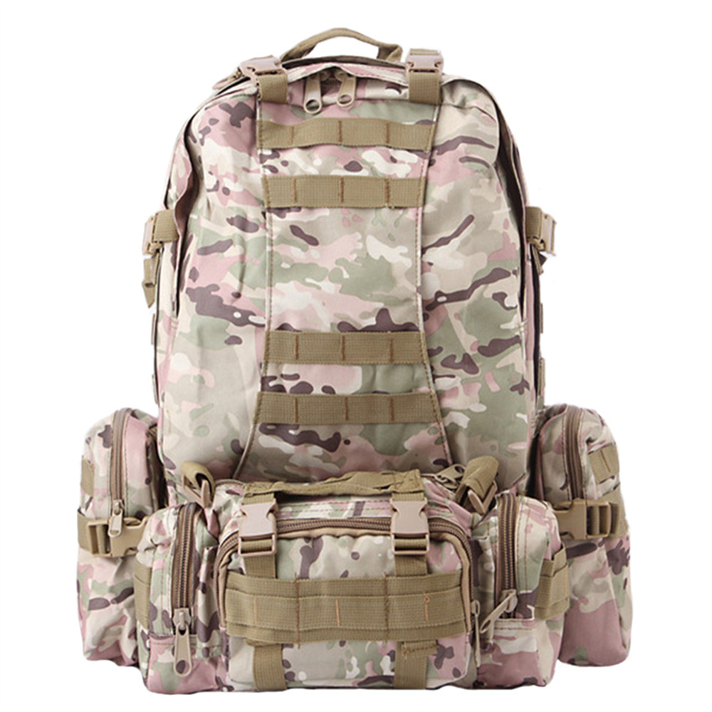 Men Outdoor Military backpack Tactical Camouflage backpack Molle System Saver Bug Out Bag Survival backpack military Travel Bags(China (Mainland))