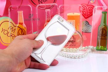 Obudowa 3D iPhone 4 4S 5C 5 5S 6 6S  | kieliszek wina