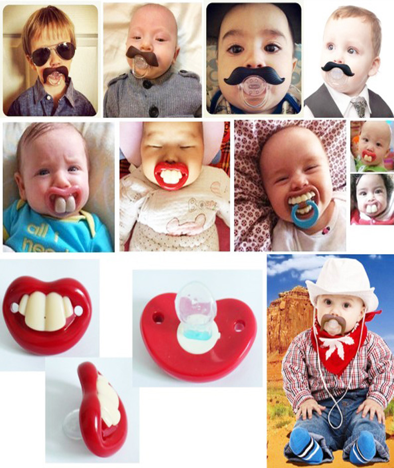 1 pic funny pacifiers Products for Babies pacifier clip nipple for baby Feeding Bottle children's feeding nibbler Safes teether(China (Mainland))